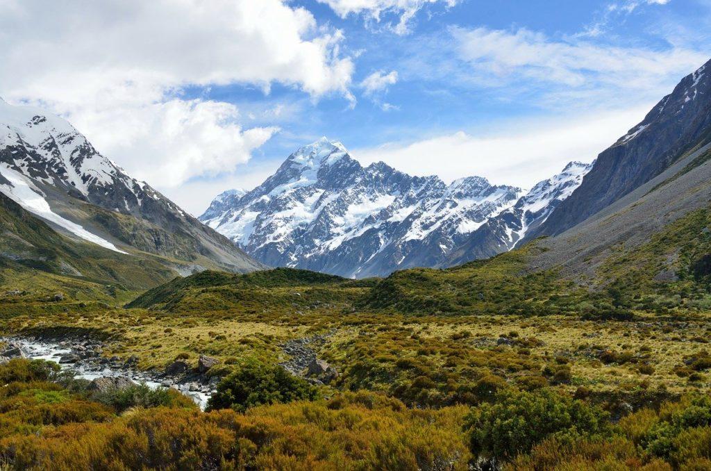 Nowa Zelandia - tejemnicza kraina