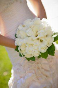 Typy bukietów ślubnych