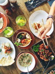 Restauracja z kuchnią tajską
