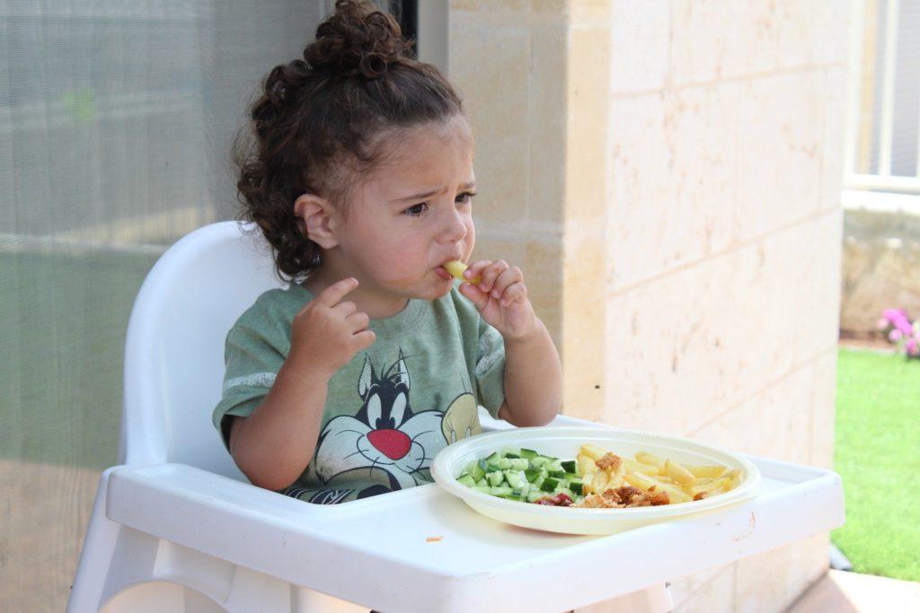 Dzieci w restauracji